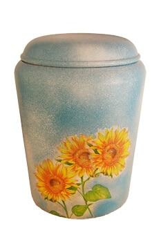 Urnen Sonnenblumen persönliche Urne