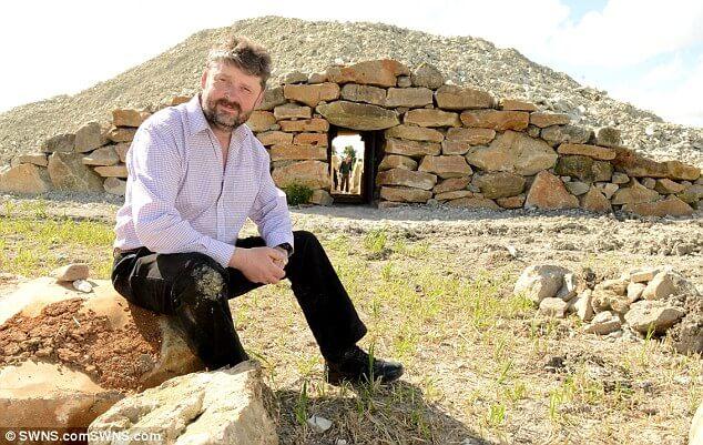 Steinzeit Begräbniss Hügel Urne kaufen