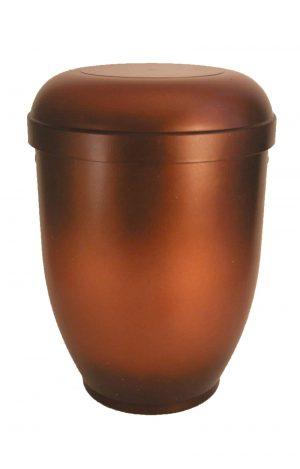 de BK3621 bio urne kupfer braun schwarz metallic urnen kaufen biourne schmuckurne