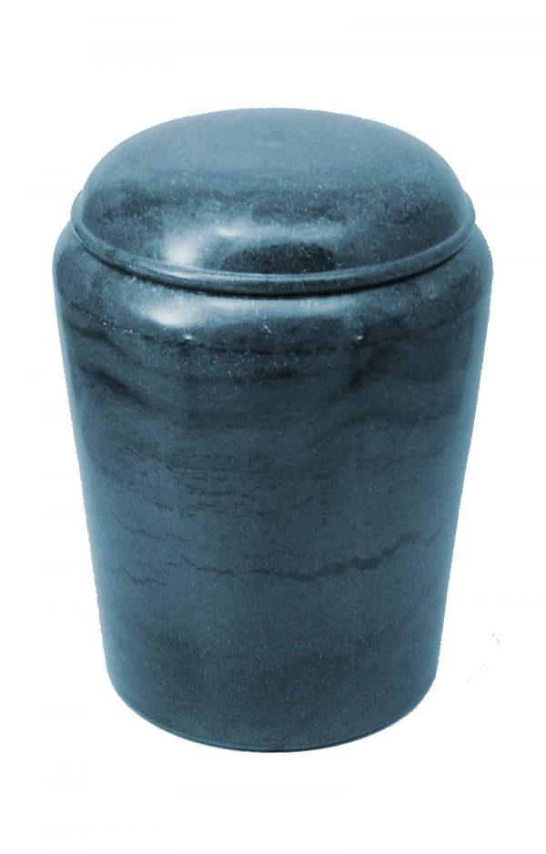Bio Urne marmoriert blau grau kaufen schön edel