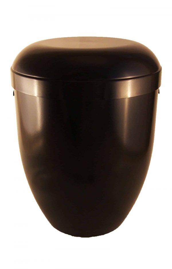 Bio Urne glänzend schwarz kaufen schön ✔