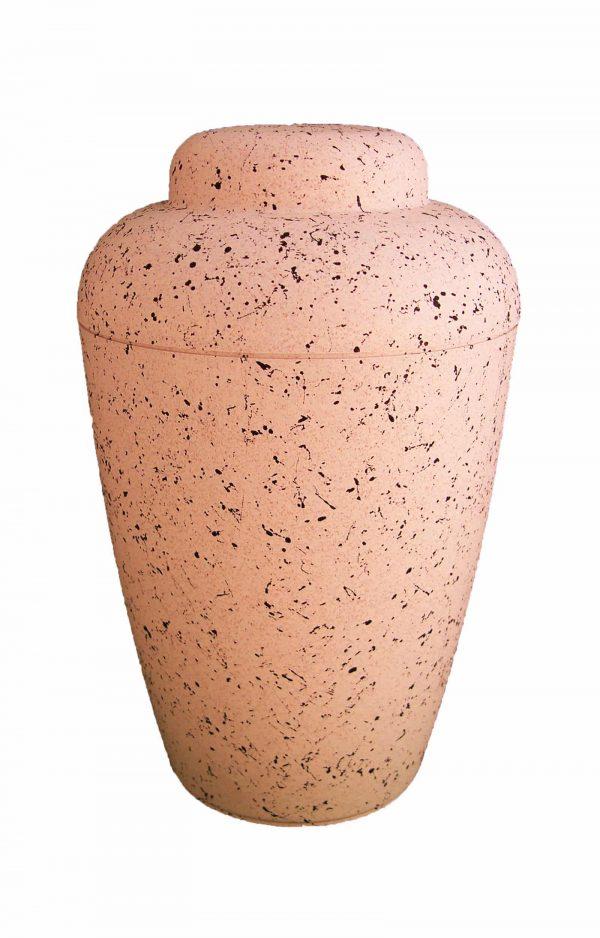 bio urne vale weiß mit flecken