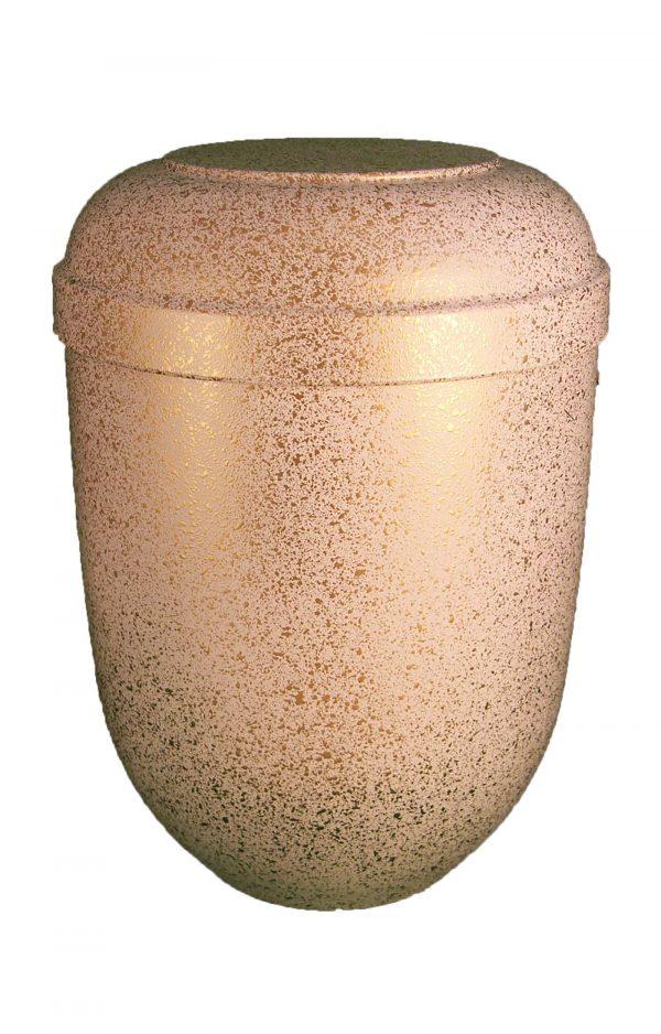 de BWG3622 bio urne weiss gold urnen kaufen biourne schmuckurne