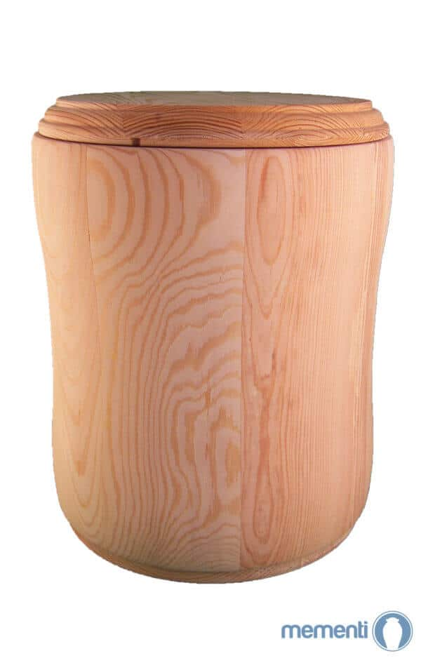 Holzurne Urnen kaufen rustikal Urne aus Holz