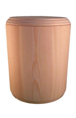 Holzurne Urnen kaufen Urne aus Fichten Holz