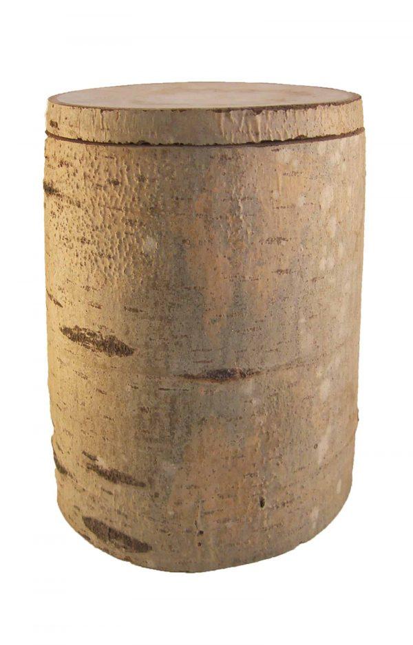 Biourne aus Baumstamm Urne Pappel- natur Bestattungsurne aus Pappelholz - Holzurne kaufen