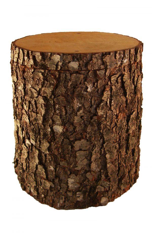 Biourne aus Baumstamm Urne Eiche- natur Bestattungsurne aus Eichenholz - Holzurne kaufen