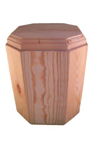 ✟ ✟ ✟ Holzurne geölt - edle Urne aus Holz Fichte - Holzurnen öko - Urnen kaufen ✔