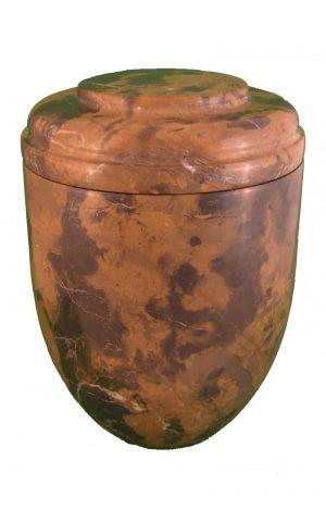 ✟ Michael Angelo Marmor Urne ✔ braun und schwarz ✔ Urnen kaufen ✟