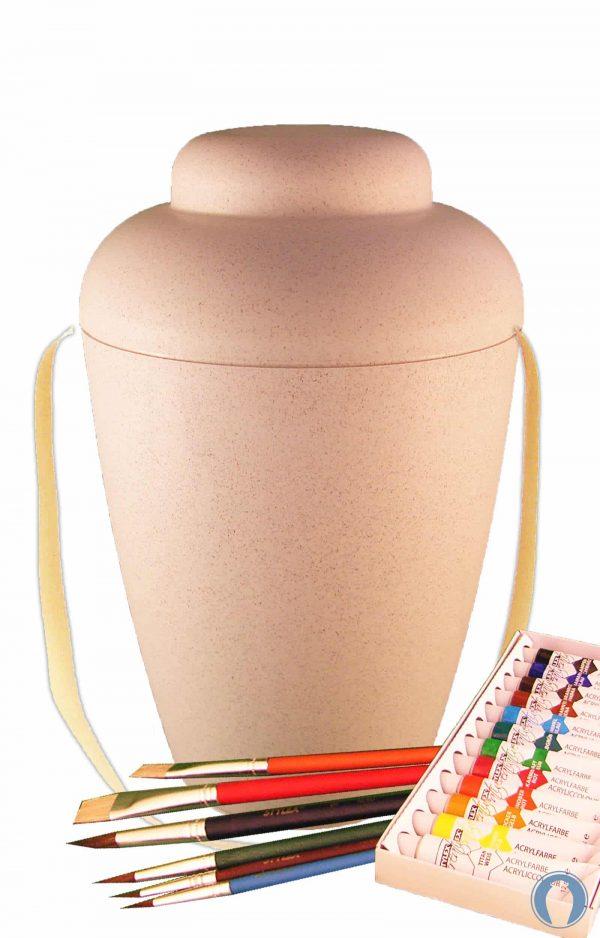 de MVW1402 bio urne malset vale weiss urnen selbst bemalen