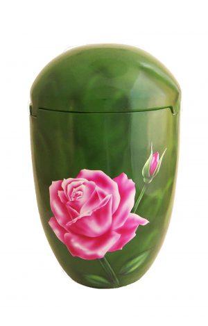 ❤ Seeurne See Urne für Bestattung im Meer ✟ Rose rosa Bio Urne kaufen ✰ ✰ ✰