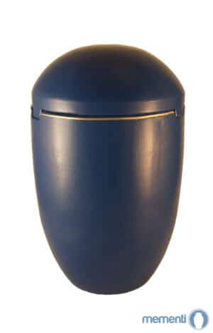 SK7022 Seeurne kaufen Himmel blau Goldrand Bio Urne See Urnen Meer