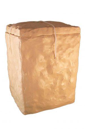 ✟✟✟ Seeurne Stein der Ewigkeit biologisch abbaubar cremeweiß beige See Urne kaufen ✔