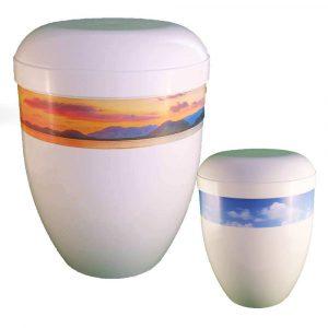 Foto und Panorama Urnen