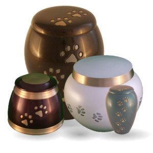 Bronze & Metall Tierurnen