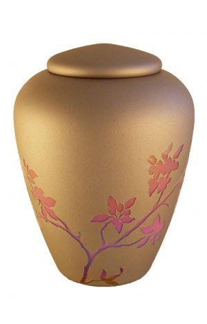 Glasurne Rosa Blumen