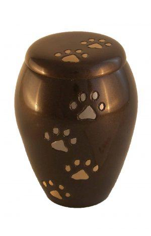 Brauen Tierurne für Hudne und Katzen