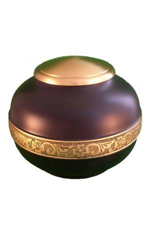 de-TIB930-violette-und-goldene-tier-urne