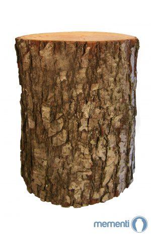 Erlen Holz Urne - Baumstam